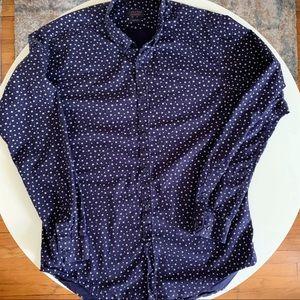 ZARA Slim Fit Cotton Button Down Shirt